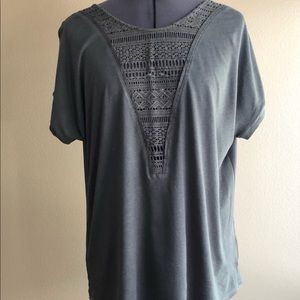 Lace T-shirt by Tiny/Anthropologie